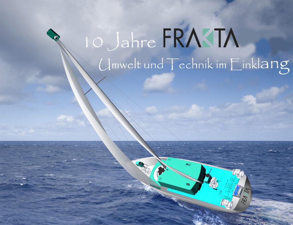 FRAKTA feiert 10jähriges Betriebsjubiläum